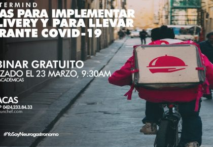 Ideas para implementar delivery y para llevar en tu restaurante durante COVID-19