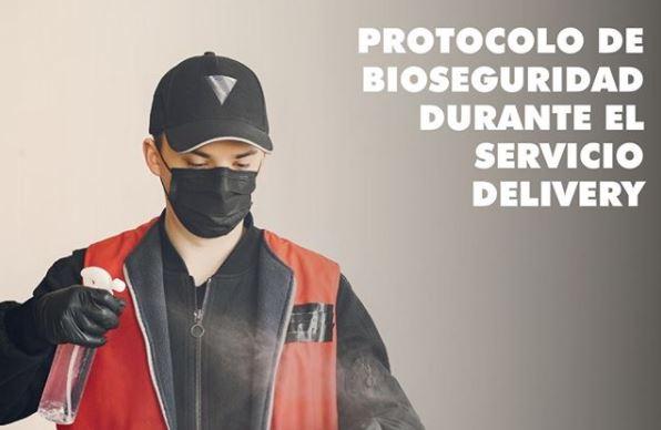 Protocolo de bioseguridad para servicios de delivery