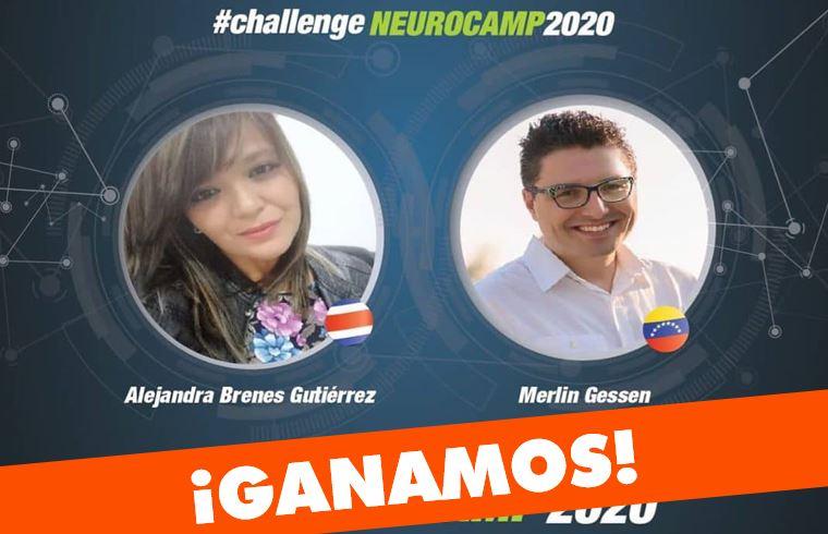 Equipo de Venezuela-Costa Rica gana el NeuroChallenge internacional 2020